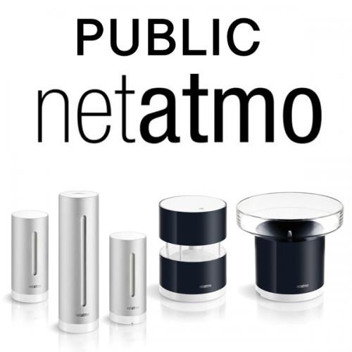 Netatmo Public Weather Station suite